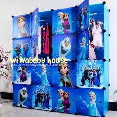 ตู้เก็บของ ตู้เสื้อผ้า DIY ลายโฟรเซ่นสุดน่ารัก กำลังเป็นที่นิยมมากๆ